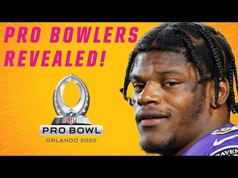 NFL 2020 Pro Bowlers Revealed!
