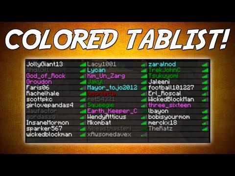 ColoredTablist | Colorful names & prefixes! | Minecraft Plugin Tutorial