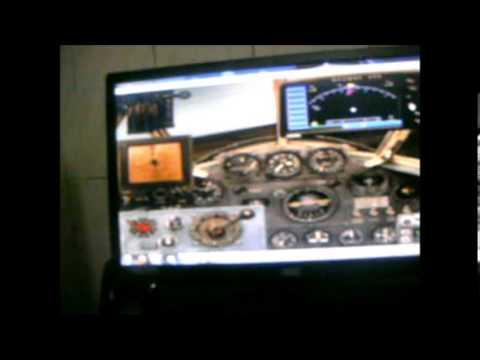 Lockheed Vega 5C de prefíxo-NR-105-W no Flight Simulator 2004