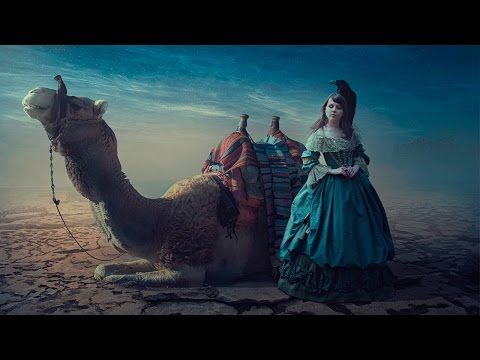 Photoshop Tutorial | Fantasy Midnight Manipulation Photo Effects CG
