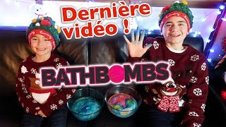 ⚠️ ON ARRÊTE LES CALENDRIERS DE L'AVENT ! - BATH BOMB CHALLENGE