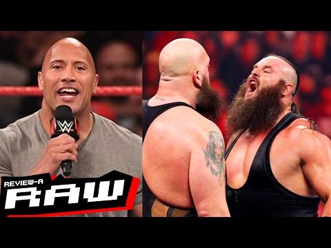 The Rock Calls CM Punk, Braun Strowman vs. Big Show   WWE Raw 2/20/17 Review