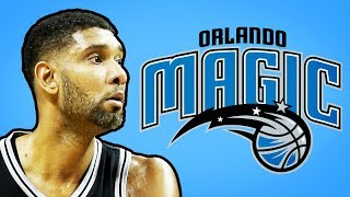How One Word Stopped Tim Duncan From Joining The Orlando Magic