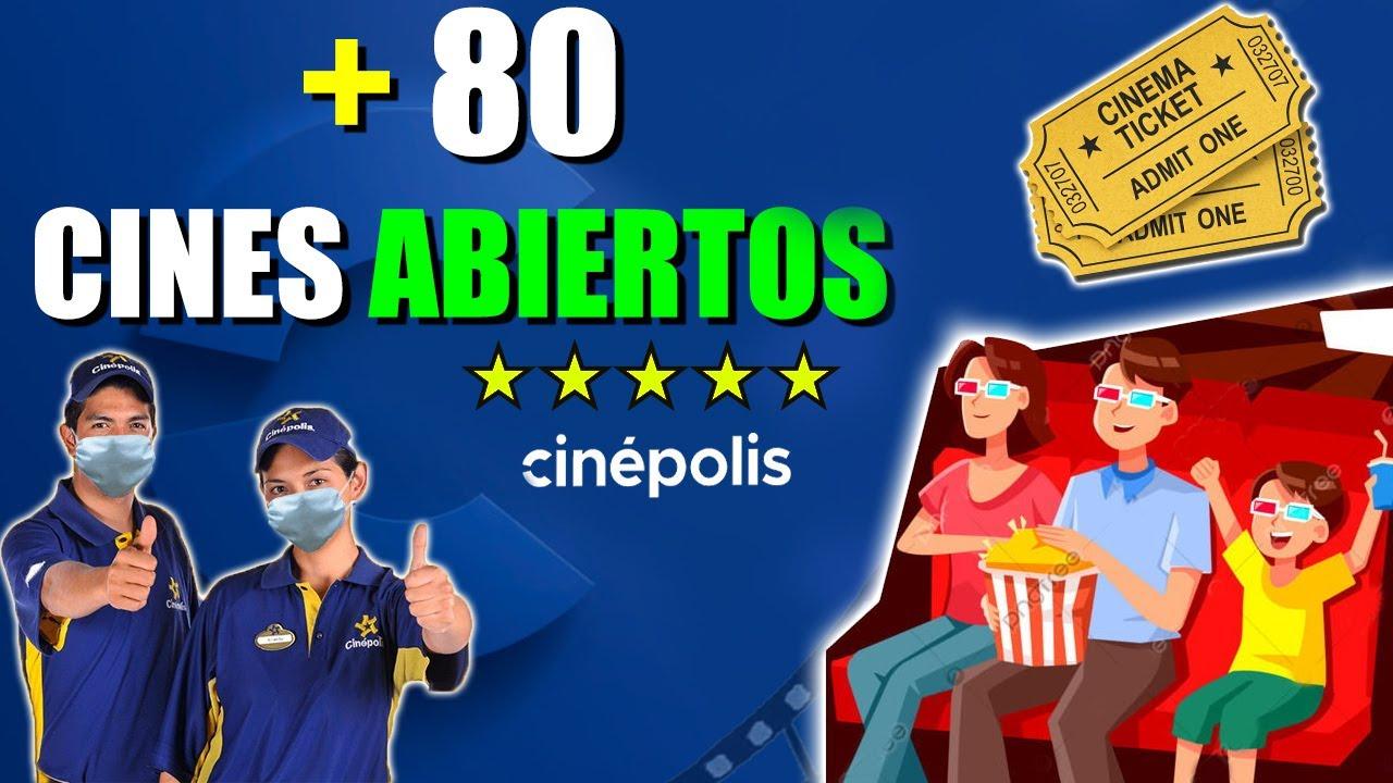 CINEPOLIS ABRE MAS DE 80 COMPLEJOS | NOTICIAS 2020