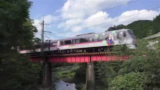 西武10000系10109F(HPTラッピング)武蔵横手~東吾野通過