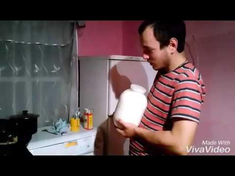Как из деревенского молока приготовить творог