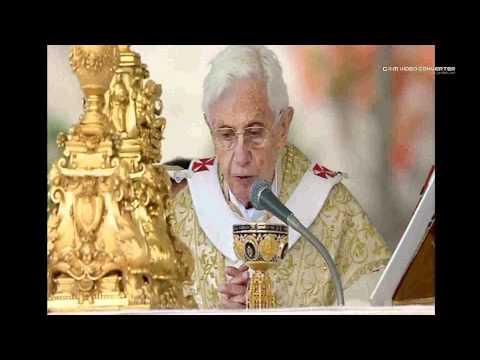 Pope Benedict XVI  Easter Sunday 2012