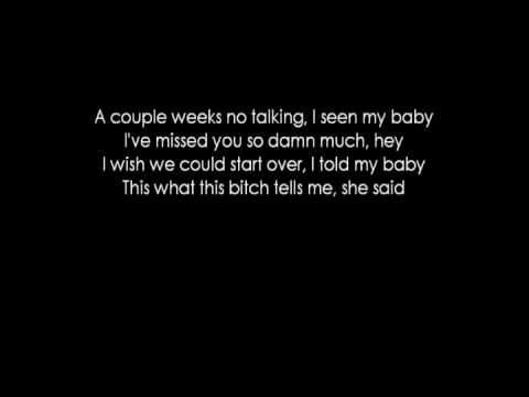 Kid Cudi Ft. Kanye West  - Erase Me (lyrics)