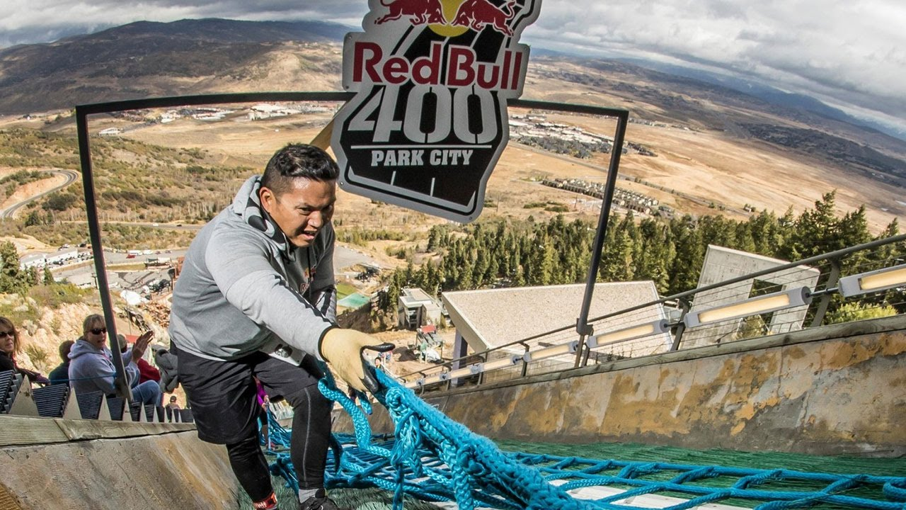 Welcome to the Steepest 400-Meter Race on Earth | Red Bull 400