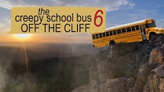 THE CREEPY SCHOOL BUS OFF THE CLIFF scary text message story