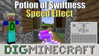 Potion of Swiftness in Minecraft (Speed status effect)