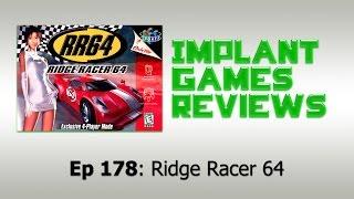 Ridge Racer 64 (N64) - IMPLANTgames Reviews