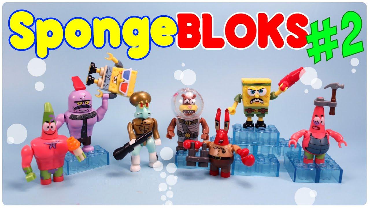 Spongebob Movie Mega Bloks Mystery Packs Series 2 ...