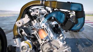 BMW M4 MotoGP Safety Car : injection d'eau