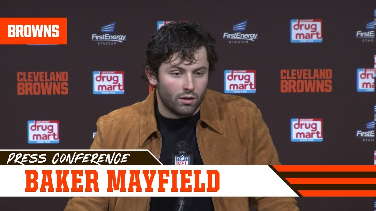 Baker Mayfield postgame press conference - Browns vs. Bengals