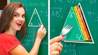 14 Façons Étranges De Cacher De La Nourriture En Classe !