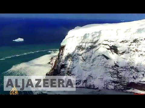 earthrise - Antarctica on the edge