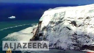 Antarctica on the edge - earthrise