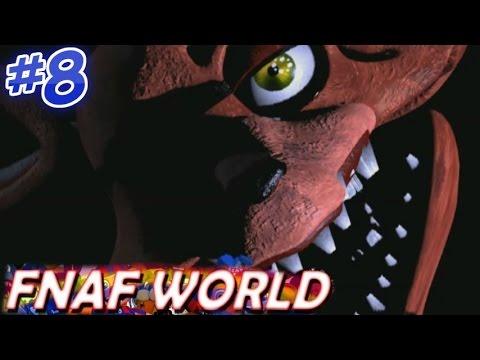 SOOOOO CREEEPY!! - Five Nights at Freddy's World #8