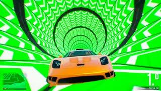 EL SUPERTUBO!! GTA V ONLINE Carreras Acrobáticas #237 - GTA 5 Gameplay