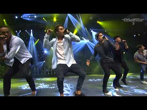 On Stage - Justice Crew - Telethon 2014