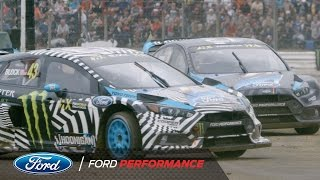 Ken Block and Ford Focus RS RX Launch the 2017 Race Season | FIA World Rallycross | Ford Performance