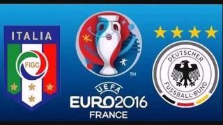 Pes 2016 - Europei 2016  Germania vs Italia - Quarti di finale