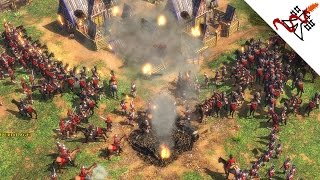 Age of Empires 3 - 2vs4 NEVER SURRENDER | Multiplayer Gameplay