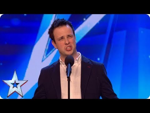 From Tesco to West Side Story: Meet singing SENSATION Ronan Busfield! | Auditions | BGT 2018