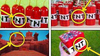 8 COISAS INCRIVEIS QUE VOCE NAO SABIA SOBRE A TNT DO MINECRAFT !!