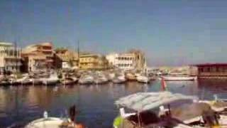 The Harbor at Tyre, Lebanon