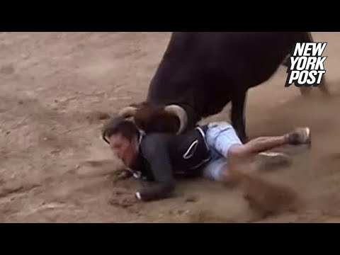 Bulls viciously attack participants at festival | New York Post