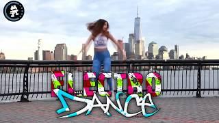 EDM Shuffle Girls Dance Electronic