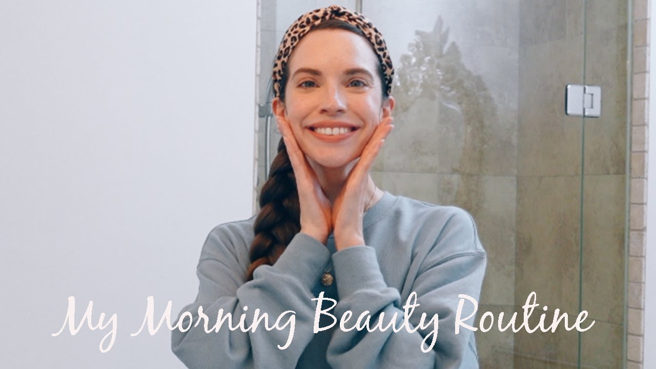 My Morning Beauty Routine: Haircare, Organic Skincare, Natural Makeup