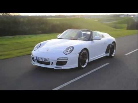 2011 Porsche 911 Speedster Driving Youtube