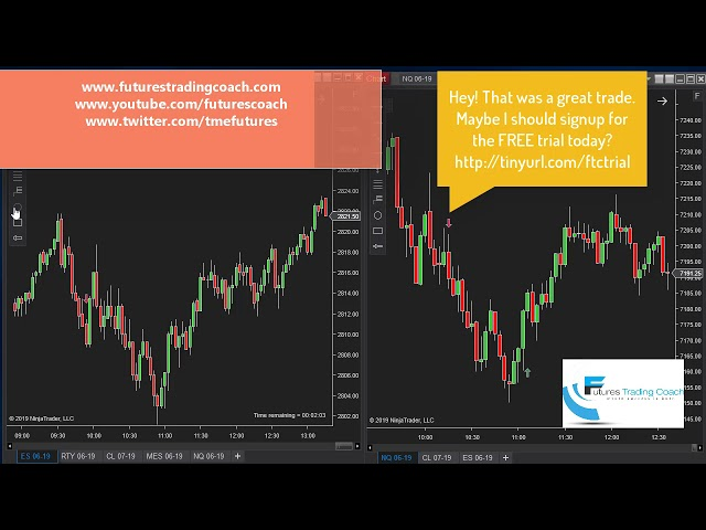 060519 -- Daily Market Review ES CL NQ - Live Futures Trading Call Room