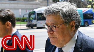 Barr precedent raises questions about Mueller report release