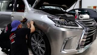 Lexus LX570 2017 full body wrapped with self-healing paint protection by RoyalCar3M