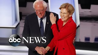 Warren, Sanders appear to break nonaggression pact prior to debate Elizabeth Warren claims that he told her in 2018 a woman couldn't win the presidential election and that his current campaign volunteers are trashing her to ...