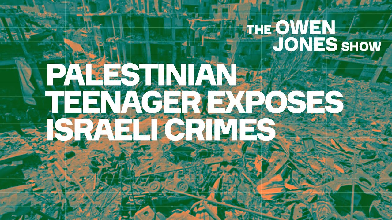 Palestinian teenager exposes Israeli crimes