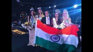Charles Cheryl of India wins Miss World Next Top Model 2017