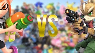 Fox vs Inkling, how to play the matchup!