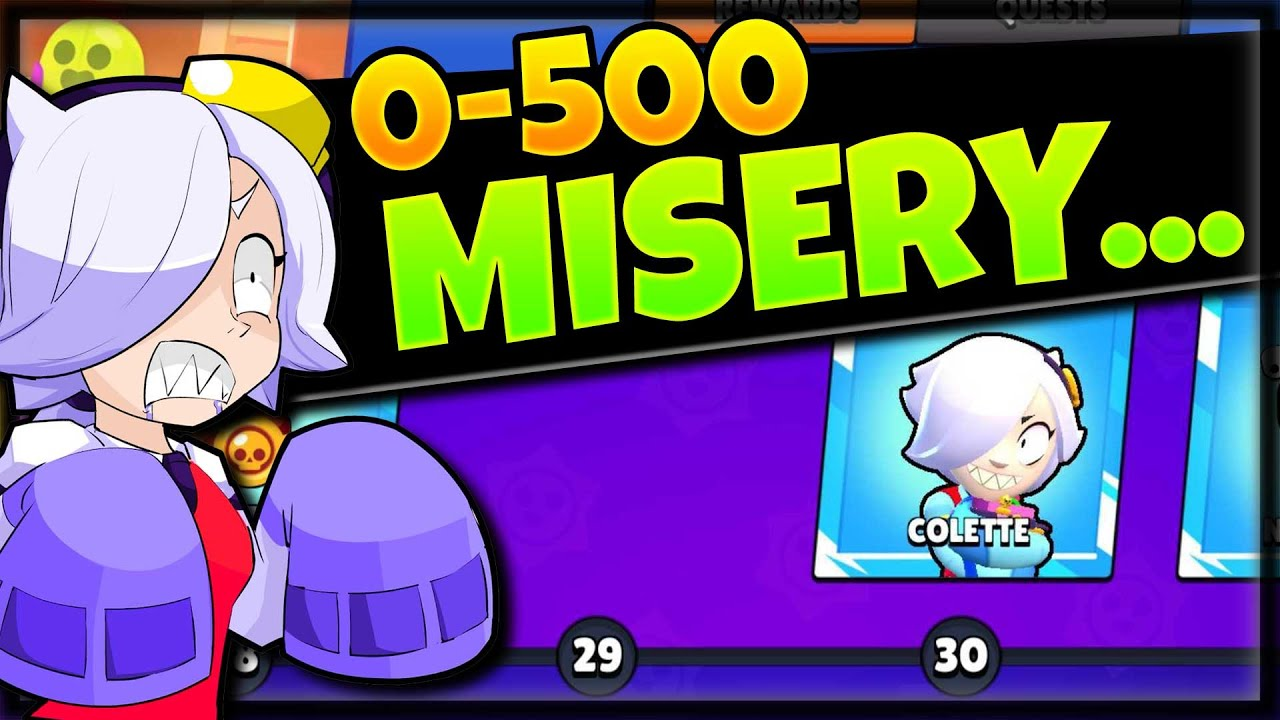 THE STRUGGLE IS REAL... | 0 to 500 in Solo Showdown with Colette | Unlocking, Maxing, and Pain