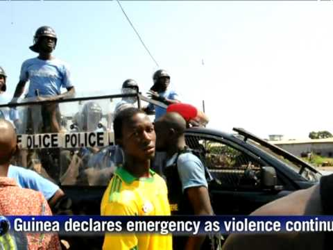 Guinea declares state of emergency as death toll rises