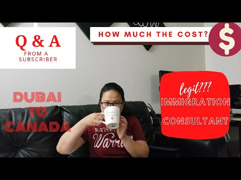 #DUBAI TO #CANADA (Our Canada Journey) How we apply and how much the cost? #jajapula #immigration