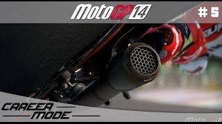 MotoGP 14 Gameplay Career Mode Walkthrough - Part 5 Moto 3 Argentinian Grand Prix