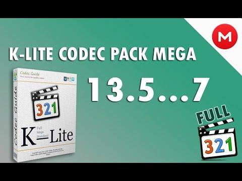 Descargar E Instalar K-lite Codec Pack 13.5 A 7 FULL + SIN VIRUS