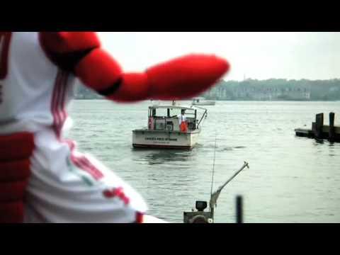 Crusher, Maine Red Claws Mascot