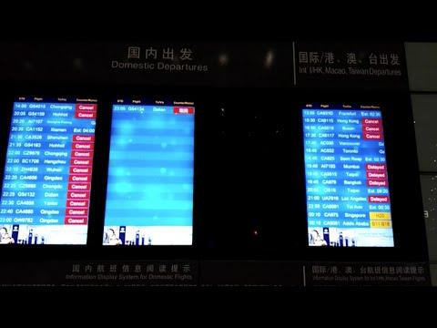 Heavy Snow Delays Flights in Beijing