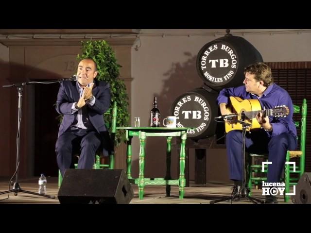 VÍDEO: ¿Un poquito de flamenco? Feria de Santiago: Festival de Cante Flamenco Curro Lucena